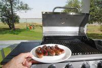 Neem gas grills goed in bedrijf