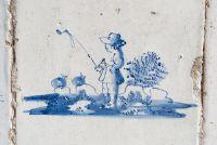 Historische tegels uit Holland - Delftse tegels