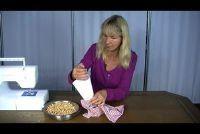 Maak Körnerkissen zelf - hoe het werkt met kersenpitten