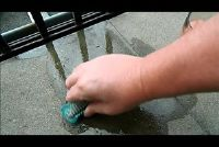 Verwijder vet uit stones - zodat het kan werken