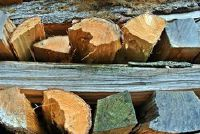 Houten beschutting zelf bouwen - blauwdrukken voor een houtwerf