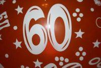 60ste verjaardag van de vrouw - creatieve ideeën