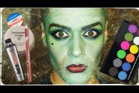 Make-up voor Halloween als heks - hoe het werkt