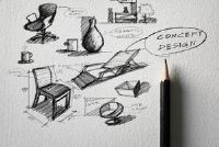 Het tekenen van een stoel - zodat je het leren