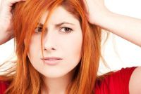 Oranje haar - wat te doen?