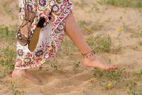 Bijpassende kleding voor maxi rok - Hier is de hippie-stijl