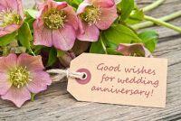 Proficiat aan de 1e huwelijksverjaardag - Ideeën
