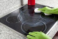 Vervang de keramische kookplaat
