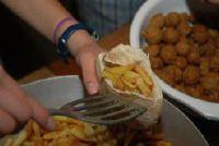 Calorieën uit Falafel - deze voedingswaarde kan worden gevonden in de specialiteit
