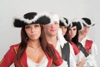 Maak piraat kostuum zelf - hoe het werkt