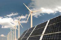 Zonne- en windenergie in de gecombineerde kleine planten - zodat ze elkaar aanvullen