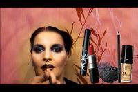 Voor Halloween make-up - twee ideeën voor volwassenen
