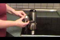 Hoe maak ik latte macchiato?