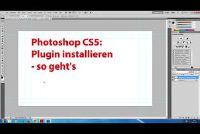 Photoshop CS5: installeer plugin - hoe het werkt