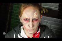 Make-up voor Halloween - dus het wordt echt griezelig