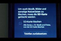 Installeren op de telefoon opnieuw Android