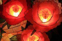 Papieren lantaarns sleutelen - hoe het werkt
