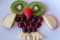 Fantasie op de plaat - vruchten foto's