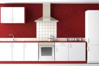 Kleur toe te voegen aan de keuken - ideeën voor wanddecoratie