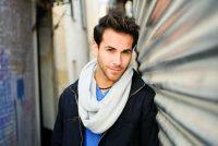 Loop sjaal naaien zelf - Aanwijzingen voor een mannen-model