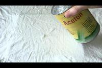 Verwijder Super Glue uit kleren