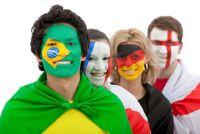 Vlaggen: sleutelen Brazilië vlag voor WK zelf - hoe het werkt