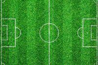 Markering het voetbalveld - u moet zich bewust zijn van