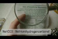 Wasserij verkleuren met zuiveringszout