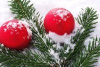 Kerst sneeuw - dus je versieren met sneeuw spuiten