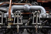 Motor reiniging met droogijs