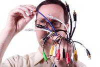 Leg de kabelverbinding - zodat je het zelf doen