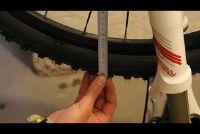 Bepaal diameters van fietsbanden - hoe het werkt