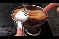 Verven stof - hoe het werkt met koffie of thee