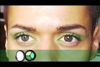 Oogschaduw in bruine ogen - zodat je het op de juiste