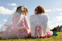 Carnival-make-up tips: angel - zodat u van toepassing te maken kindvriendelijke