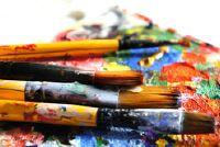 Act van een vrouw schilderij - Nuttig
