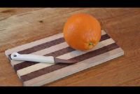 Schil en filet Orange - hoe het moet