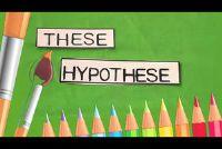 Leg het verschil tussen theorie en hypothese natuurlijk