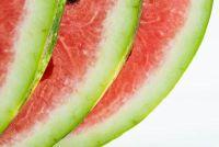 Snijd een watermeloen - sleutels tot succes hapjes