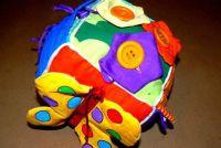 Maak een kubus zelf - als een succesvolle motor blokjes voor baby's