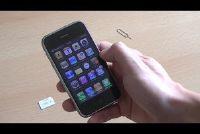 IPhone 3G: SIM fout - wat te doen?
