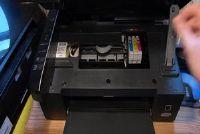 Epson Stylus SX110: change cartridges - zo gaat het