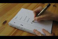 Verbeter handschrift - eenvoudige oefeningen