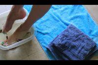 Zorg voetenbad zelf - hoe het werkt