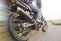 Flitste met motorfiets en er gebeurt niets?