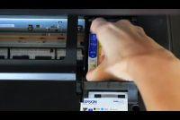 Epson Stylus SX210: change cartridges - hoe het werkt