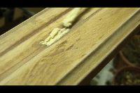 Benadruk gelakt hout - Om de verf te vernieuwen