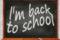 Eerste dag van school: een nieuwe school - dus ga je ontspannen benadering