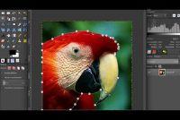 Wanneer foto bewerkt op de achtergrond - hoe het werkt met GIMP
