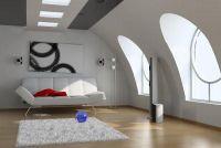Decoratie van een helling - dus penthouses zijn comfortabel